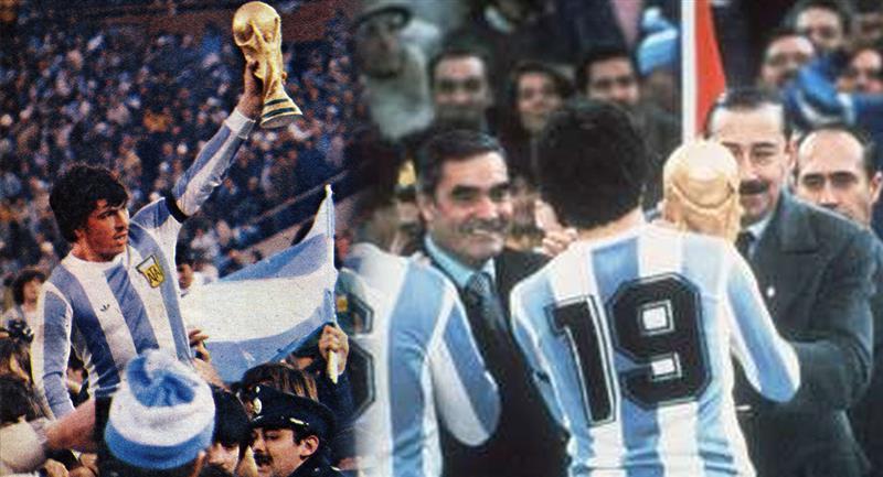 Argentina campeón del mundo en 1978. Foto: EFE