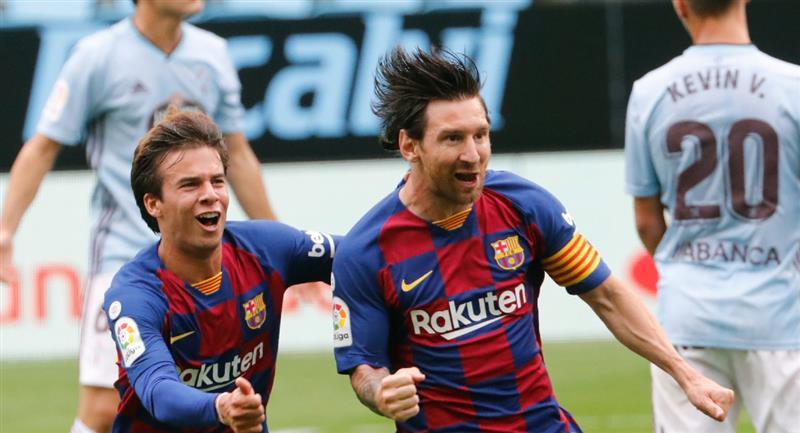 Barcelona iguala encuentro y deja el camino libre al Rea Madrid. Foto: EFE