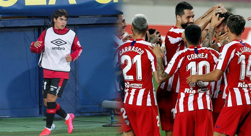 Luka Romero podría sumar minutos ante Atlético Madrid. Foto: EFE