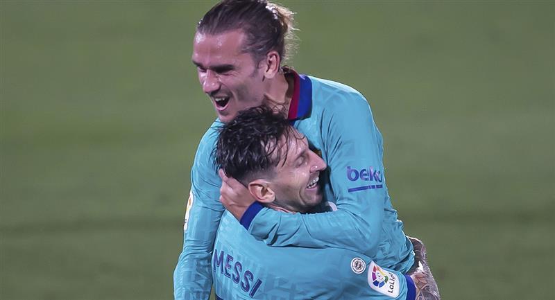 Messi buscará un nuevo triunfo de Barcelona en LaLiga. Foto: EFE