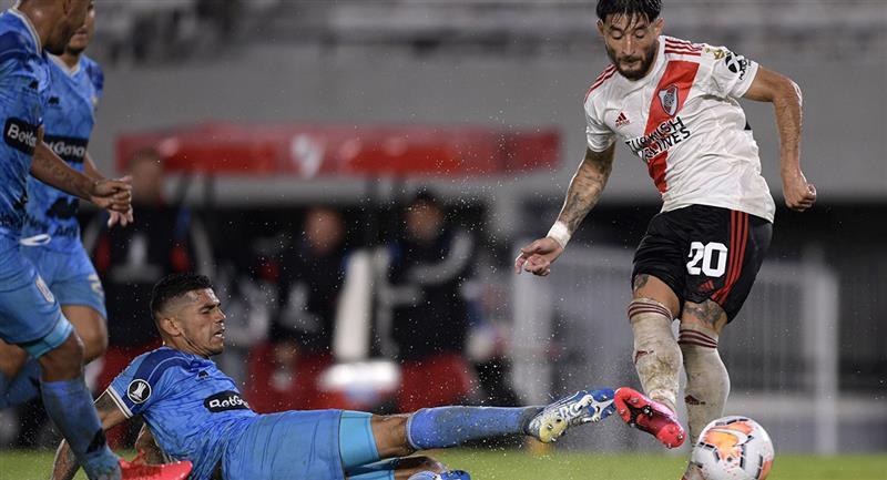River Plate llega de golear a Binacional por 8-0. Foto: Andina