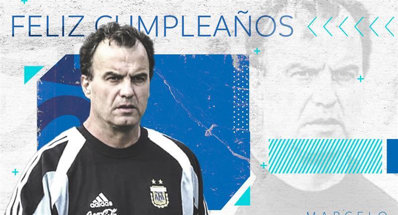 Marcelo Bielsa cumple 65 años. Foto: Conmebol