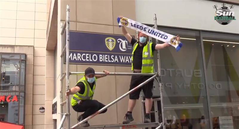 Marcelo Bielsa será el nombre de una calle de Leeds de Inglaterra. Foto: Captura The Sun Football