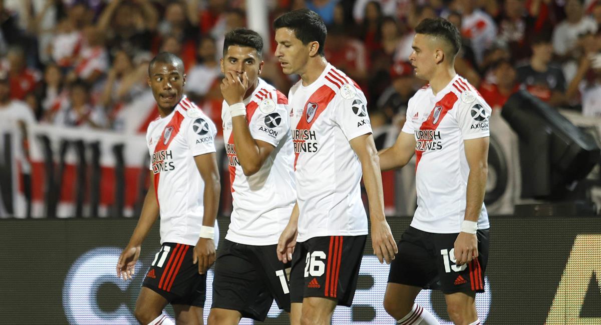 Clubes que participan de la Libertadores ven como una vía reiniciar la Copa Argentna. Foto: Twitter Difusión