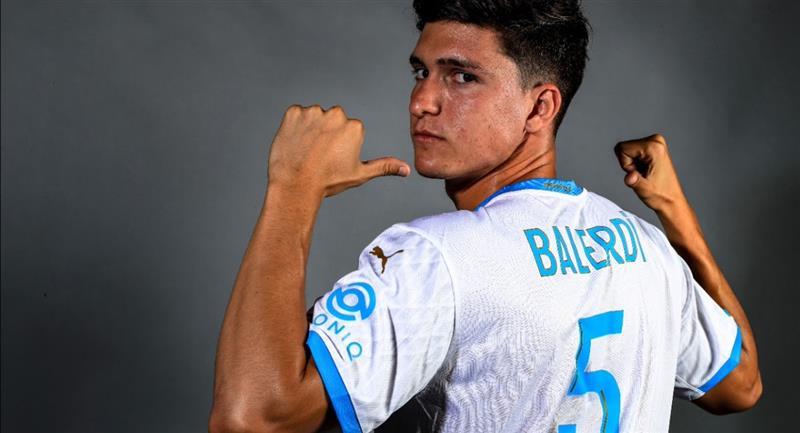 Leonardo Balerdi reforzará la defensa del Olympique. Foto: Cortesía Olympique de Marsella