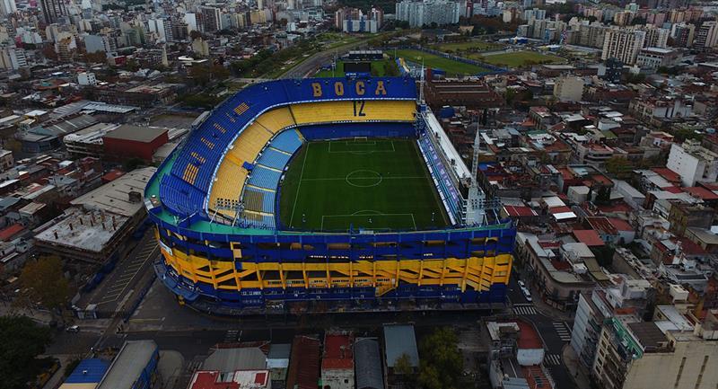 Estadio La Bombonera se mantiene en buenas condiciones pese a pandemia. Foto: Twitter Boca Juniors