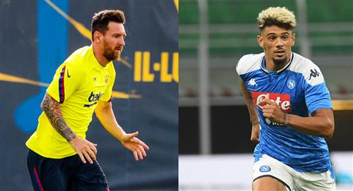 Las cuotas para el Barcelona vs Nápoles