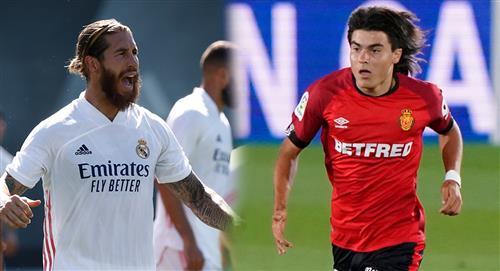Luka Romero: conoce la divertida anécdota con Sergio Ramos en su debut ante Real Madrid