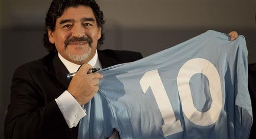Conmebol invitó a Diego Maradona a combatir la COVID-19