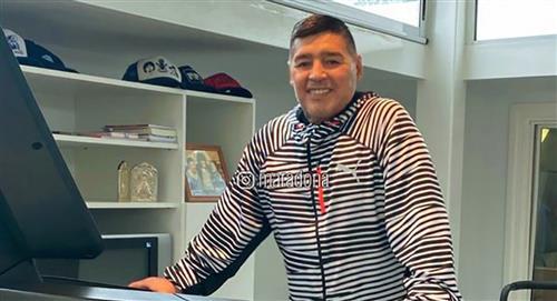 Diego Maradona y su mensaje tras la vuelta de los entrenamientos en el fútbol argentino