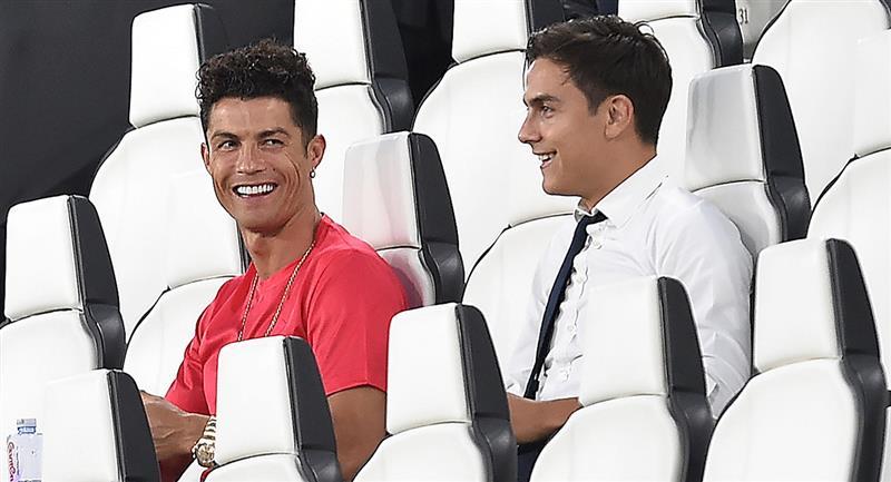 Juventus contará con Dybala y Cristiano para choque de Champions. Foto: EFE