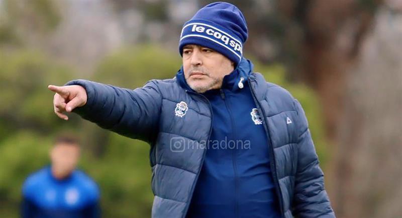 Diego Maradona no estuvo presente en el primer testeo. Foto: Instagram @maradona