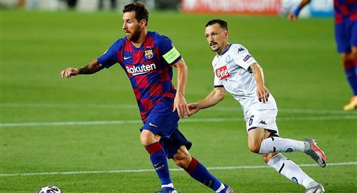 Lionel Messi: ¿golpe que sufrió ante Nápoli lo deja fuera de cuartos de final?