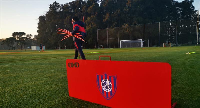 El fútbol argentino regresó luego de casi cinco meses. Foto: Twitter Club San Lorenzo