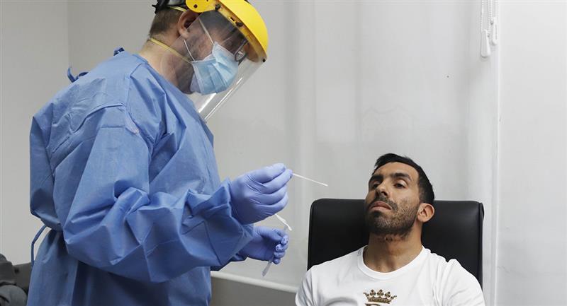 Jugadores vienen siendo  sometidos a pruebas de la COVID-19. Foto: Twitter Boca Juniors