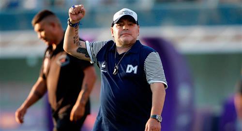 Diego Maradona y el noble gesto para los niños de la Argentina
