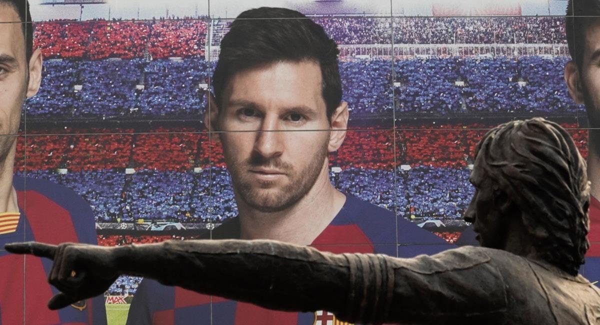 Lionel Messi quiere la facilidad de fichar por otro equipo. Foto: EFE