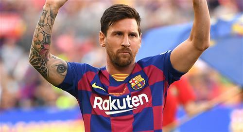 Oficial: Lionel Messi confirma su continuidad en Barcelona hasta junio del 2021
