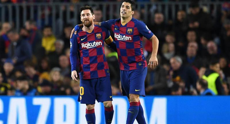 Lionel Messi habría hecho cambiar de decisión a Luis Suárez. Foto: Twitter Difusión