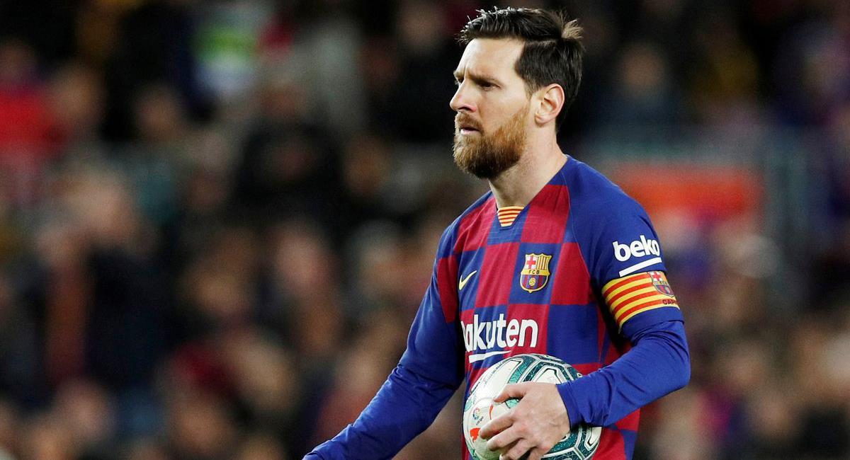 Lionel Messi continuará en Barcelona hasta junio del 2021. Foto: Twitter Difusión