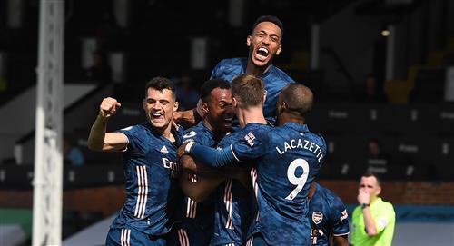 Arsenal goleó 3-0 al Fulham en el estreno de la Premier League