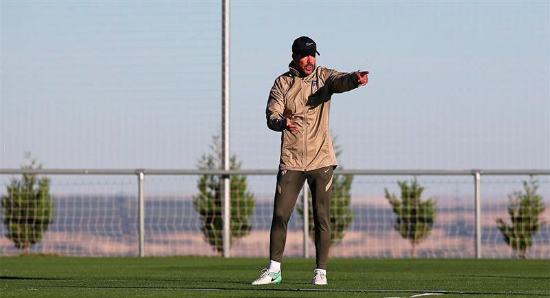 Diego Simeone. Foto: EFE