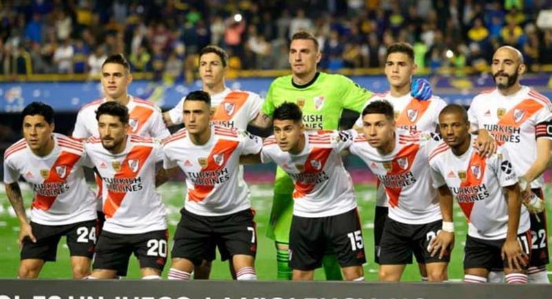 River prepara sorpresas en el '11' para duelo de Libertadores. Foto: Twitter Difusión