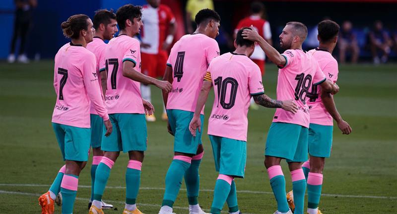Lionel Messi marcó su primer gol con Barcelona. Foto: Twitter FC Barcelona