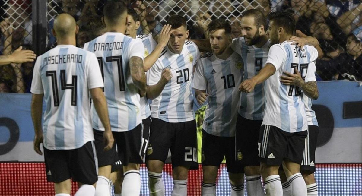 La Argentina tendrá que prepararse para inicio de Eliminatorias. Foto: Twitter Difusión