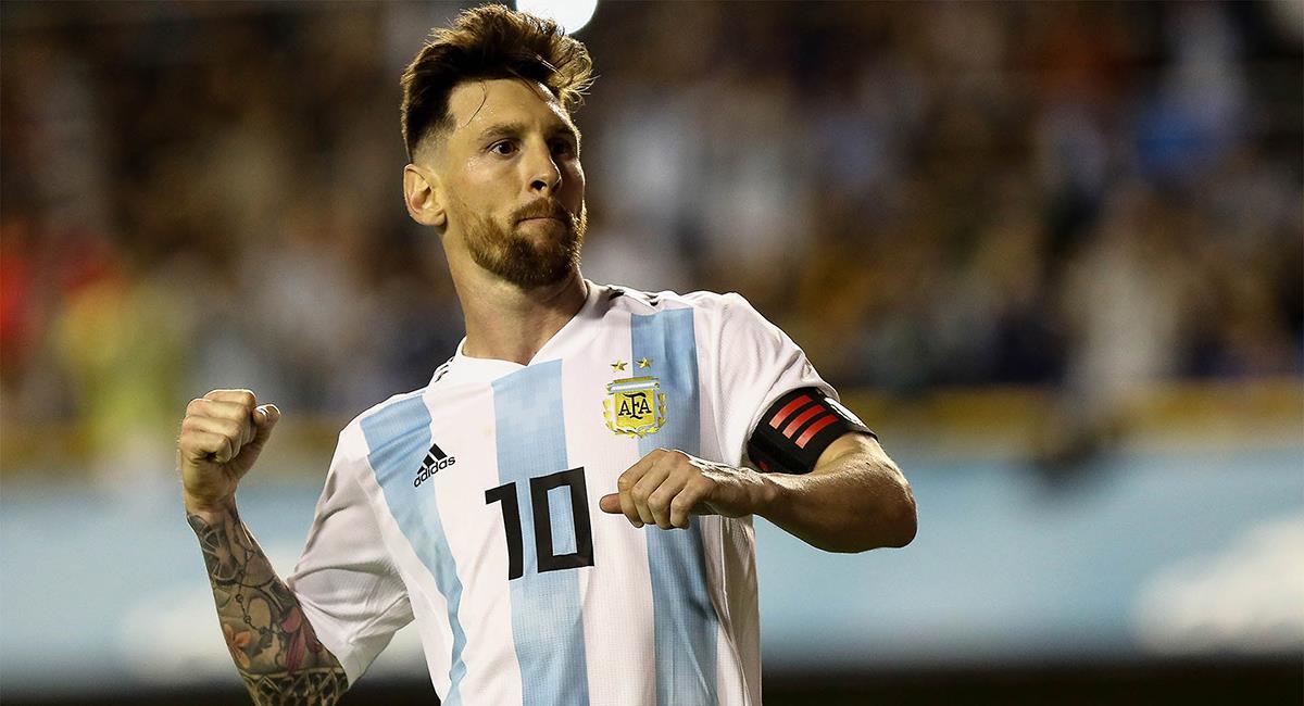 Messi vuelve a vestir la albiceleste. Foto: EFE
