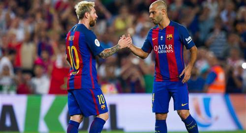 Lionel Messi: Javier Mascherano habló de la permanencia del '10' en Barcelona