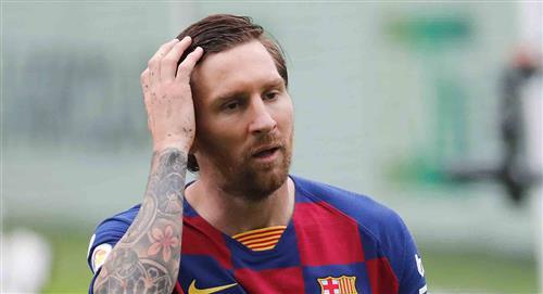 Lionel Messi fuera de los premios UEFA de esta temporada