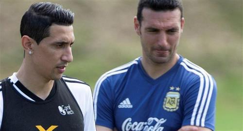Lionel Scaloni le respondió a Ángel Di María por su no convocatoria a la Argentina