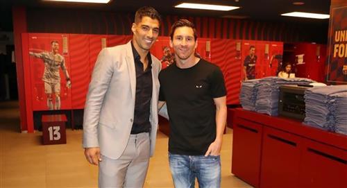 Lionel Messi sobre salida de Luis Suárez: