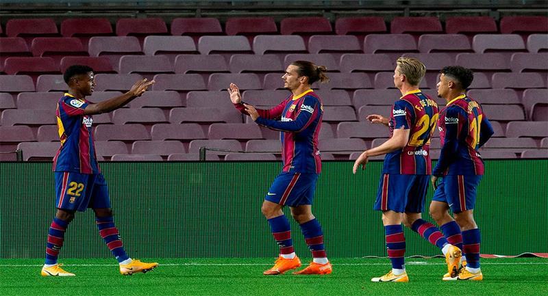 ¿Ansu Fati es el reemplazo natural de Messi?. Foto: EFE