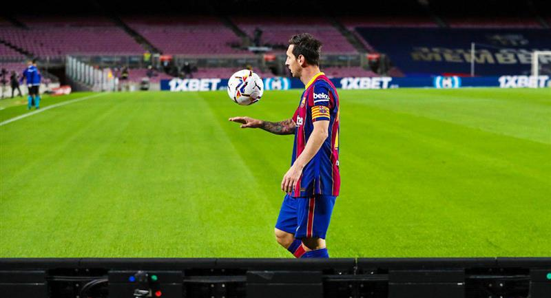Messi, el deportista más rentable en Instagram. Foto: Twitter Barcelona FC