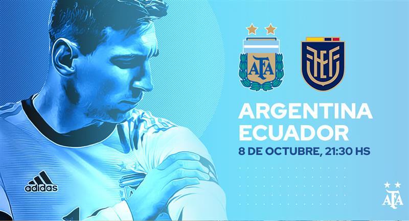 Confirman el 11 titular de la selección de Argentina para hoy. Foto: Twitter @Argentina