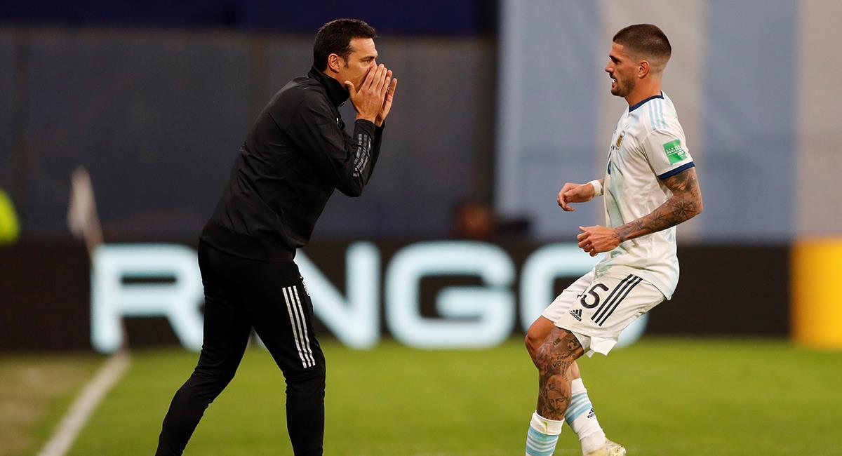 Lionel Scaloni se refirió a la victoria Argentina sobre Ecuador. Foto: EFE