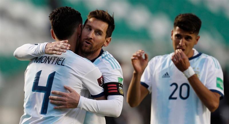 Argentina pudo ganar en La Paz a Bolivia. Foto: EFE