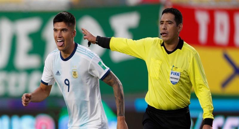 Argentina venció a Bolivia en calidad de visitante. Foto: EFE