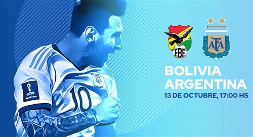 Dónde y a qué hora ver el Argentina vs. Bolivia