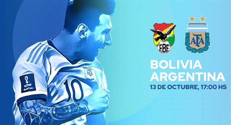 Dónde y a qué hora ver el Argentina vs. Bolivia. Foto: Twitter @Argentina