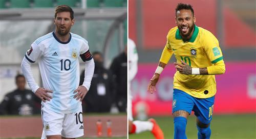 Fecha del Argentina vs. Brasil