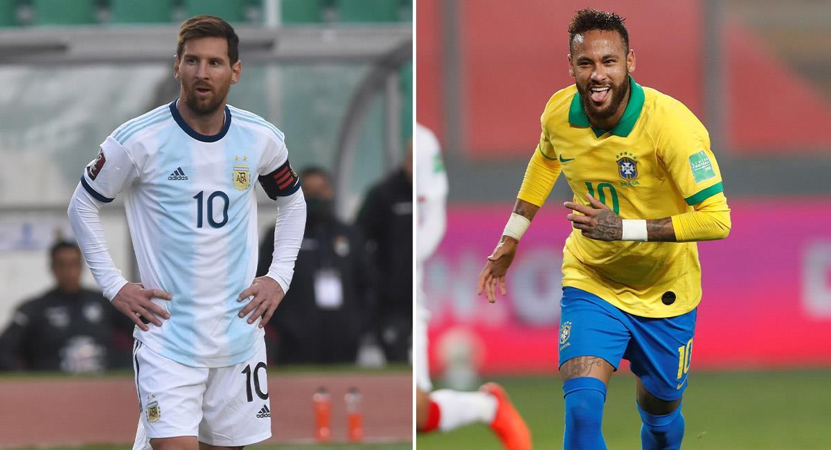Cuándo se jugará el Argentina vs. Brasil por Eliminatorias. Foto: EFE