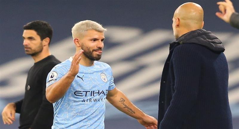 Sergio Agüero volvió a jugar y el Manchester City ganó. Foto: EFE