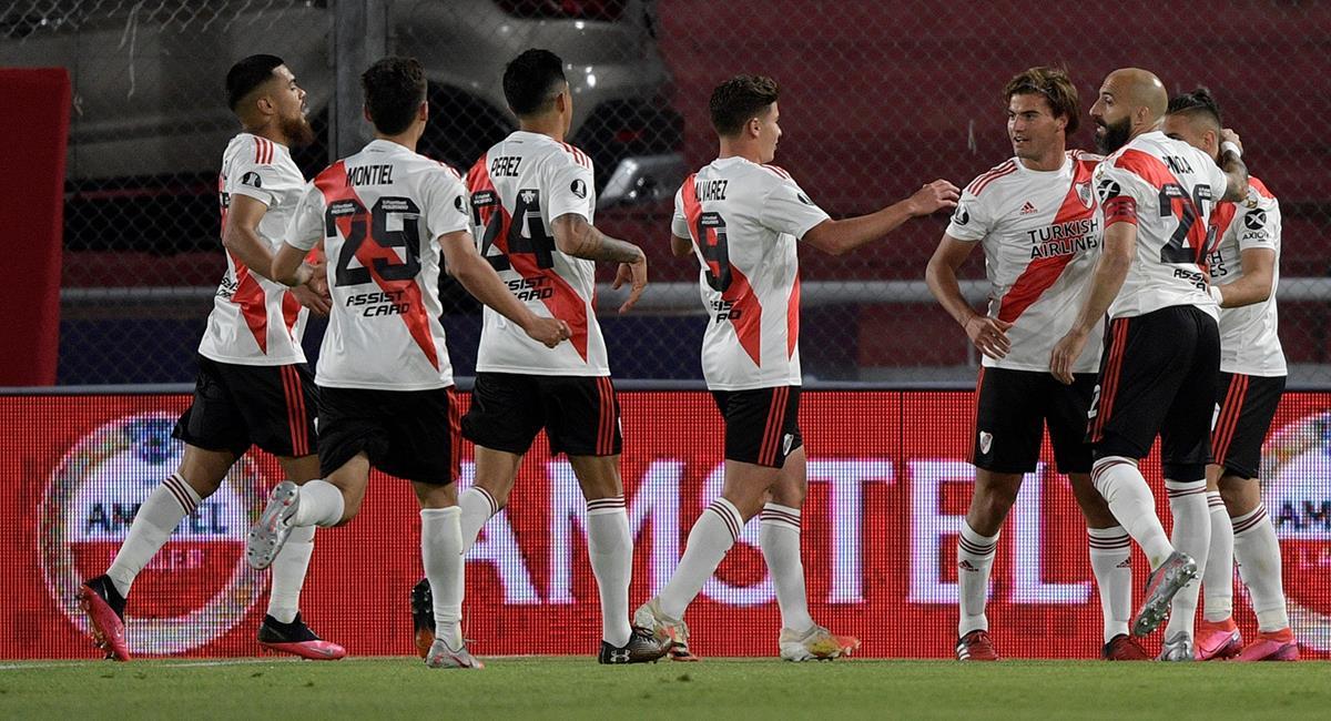 River Plate sigue firme en octavos de final. Foto: EFE