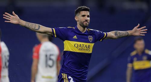 Boca Juniors goleó a Caracas por la Copa Libertadores