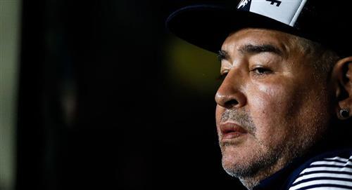 Diego Armando Maradona es aislado ante posible contagio de COVID-19