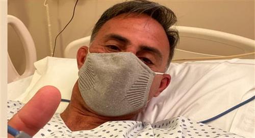 Diego Latorre internado por un cuadro de coronavirus
