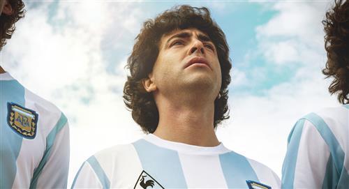 Échales un vistazo a las primeras imágenes de la serie de Maradona en Amazon Prime Video